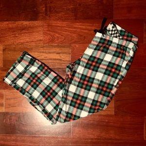 J. Crew Plaid Flannel Pajama Bottoms